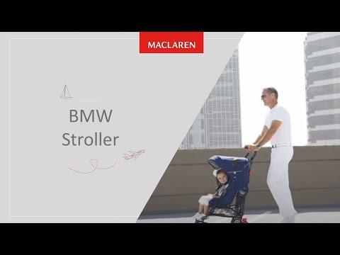 Прогулочная коляска-трость Maclaren BMW Black (DSE04092)