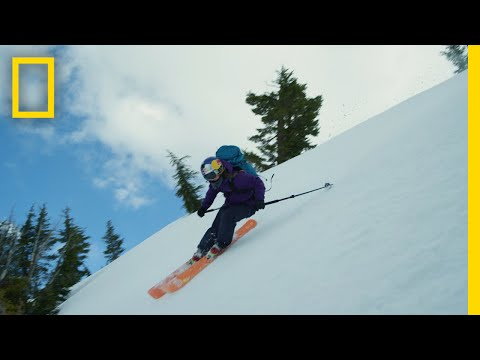 She's A Big Mountain Skier On A Mission To Keep Others Safe | National Geographic
