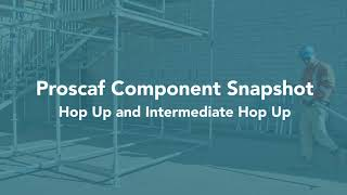Proscaf Component Series - Hop Up and Intermediate Hop Up
