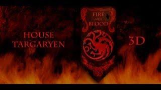 Targaryen Banner 3D AGoT YouTube video