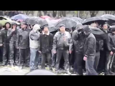 Запорожье Антимайдан в окружении. Подвиг 300 запорожцев.  ЭТО НЕЛЬЗЯ ЗАБЫТЬ!