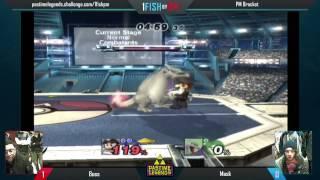 Mask (Charizard) vs. Boss (Mario)