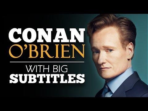 ENGLISH SPEECH | CONAN O'BRIEN: Failure Happens (English Subtitles)
