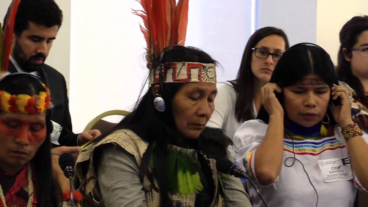 Situación de defensoras y defensores  de derechos humanos de pueblos indígenas y del ambiente en Ecuador