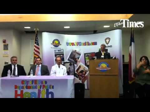 Health officials discuss TB exposure at El Paso, TX, hospital