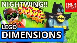 LEGO Dimensions Robin Costume Change! Nightwing Revealed?! LEGO Batman Movie! Wave 8 March 21st?
