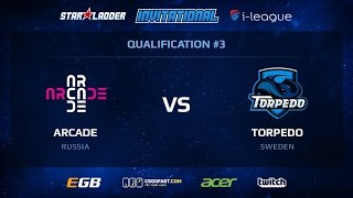 Arcade vs Torpedo, game 1