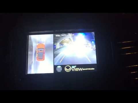 Camera 360 độ Oview cho xe Tanger Wildtrak