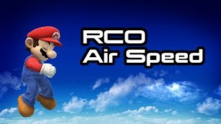 【SSB4】RCO Air Speed – What It Is and How it Affects You