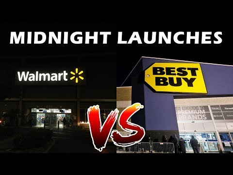 Tales From Retail: Walmart Vs. Best Buy Midnight Launches