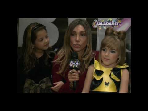 """Maura Roth mostra os bastidores da semifinal """"Qual é seu talento?"""" com as crianças"""