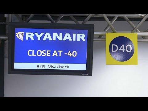 Ryanair: Η χειρότερη 24ωρη απεργία στην ιστορία της εταιρίας…
