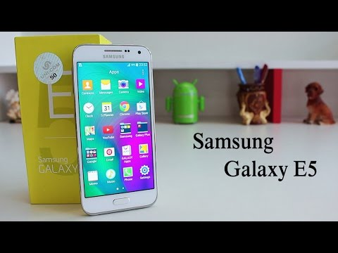 Samsung Galaxy E5 Unboxing & Quick Review