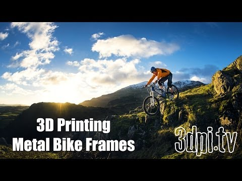 Renishaw's 3D Printing Production Method for Bicycles