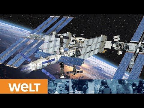 ISS-Schleusen werden geöffnet: So zieht Alexander Gerst in die Weltraum-WG ein