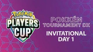 Pokémon Players Cup - Pokkén Tournament DX Invitational Day 1 by The Official Pokémon Channel
