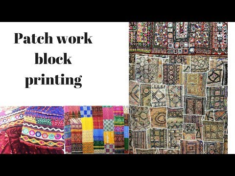 Learn How To Block Print Your Patchwork Quilt Using Colouricious Wooden Printing Blocks