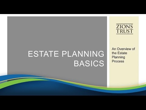 [Webinar] Trust and Estate Planning