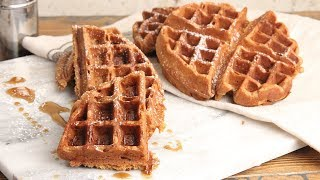 Gingerbread Waffles | Episode 1214 by Laura in the Kitchen