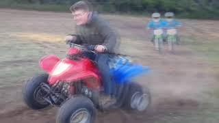 10. Extreme kids 4 wheeler abuse
