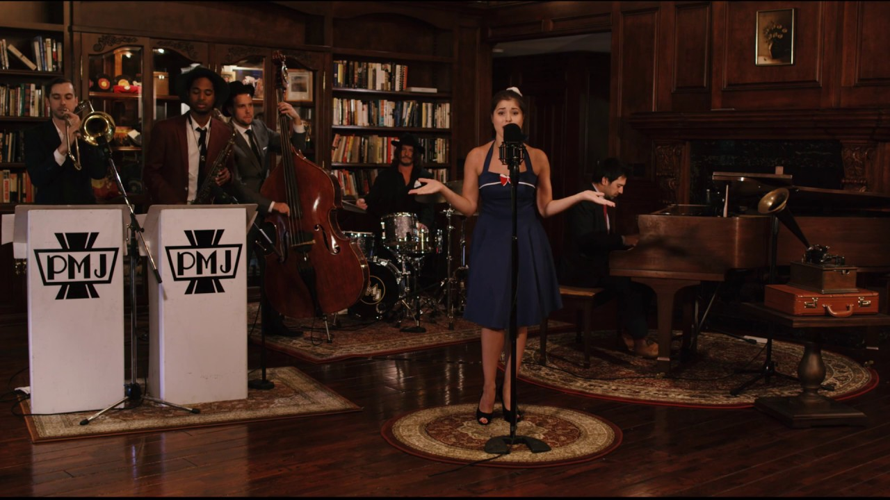 This Love – Vintage 1940s Jazz Style Maroon 5 Cover ft. Devi-Ananda
