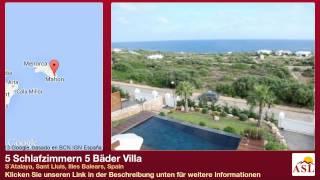 Sant Lluis Spain  city photo : 5 Schlafzimmern 5 Bäder Villa zu verkaufen in S´Atalaya, Sant Lluís, Illes Balears, Spain