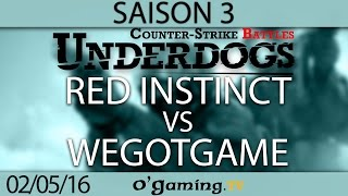 Red Instinct vs WeGotGame - Underdogs CS:GO S3 - Up&Down