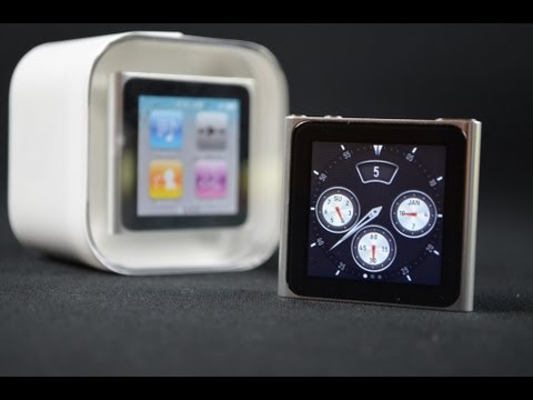 ipod as a watch - In Memory of Steve Jobs: You inspire everything I do now and forever. You'll be missed! The