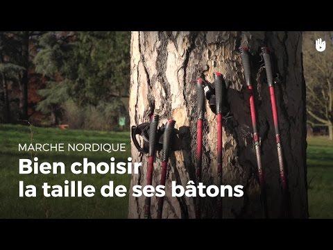 Comment choisir des bâtons de marche nordique à sa taille ? | Marche Nordique