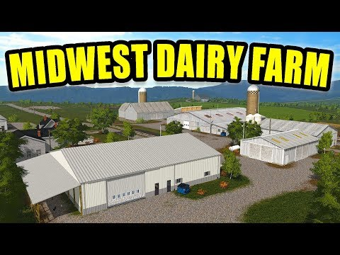 MIDWEST DAIRY MAP TOUR! SHOULD WE BUY THE FARM?? | FARMING SIMULATOR 2017