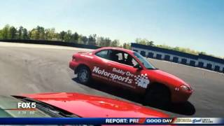 Fox5 Atlanta Goes to Stunt Driving School