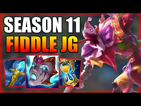 HOW TO PLAY FIDDLESTICKS JUNGLE WHILE PERMA INVADED - Season 11 Fid Jungle Guide - League of legends