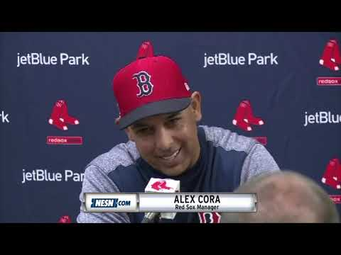 Video: Alex Cora pays tribute to Nick Cafardo