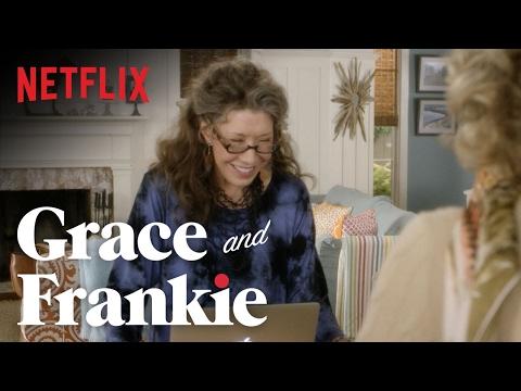 Grace and Frankie | Season 2 - Bloopers | Netflix