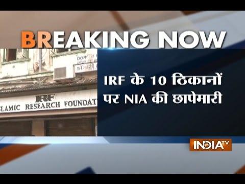 NIA conducts raids at Zakir Naik's Islamic Research Foundation premises