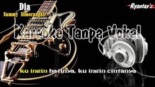 Karaoke Sammy Simorangkir-Dia Video