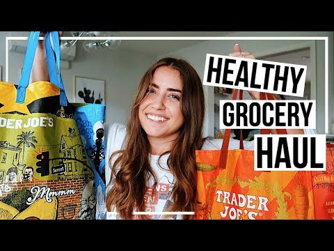 HEALTHY TRADER JOE'S HAUL! | easy 1 person meals