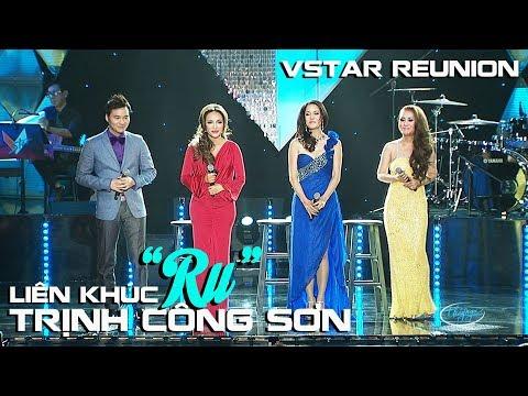 """LK """"Ru"""" (Trịnh Công Sơn) Thu Phương, Thanh Hà, Mỹ Hạnh, Đình Bảo - VSTAR Reunion - Thời lượng: 12:35."""