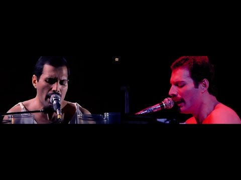 queen - bohemian rhapsody (video live budapest and montreal)