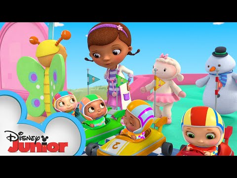 Bumper Car Betsy | Doc McStuffins Baby | Disney Junior