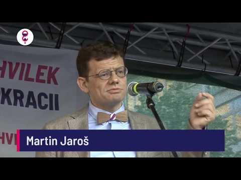 Demonstrace 5. 6. 2018 - Martin Jaroš