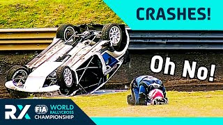 Ultimate Rallycross Crashes Compilation! | World Rallycross