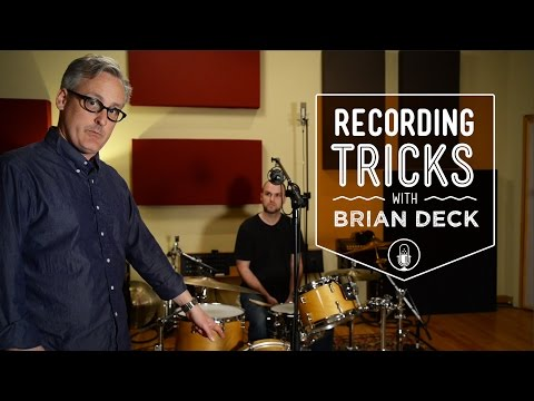 How To Record Drums with 1, 2, 3, 4, or 5 Microphones with Brian Deck