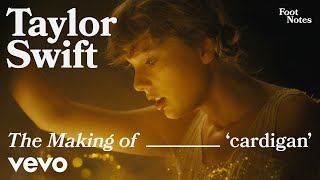 Taylor Swift - The Making of 'cardigan'   Vevo Footnotes