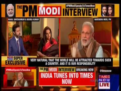 PMModiSpeaksToTimesNow : PM Shri Narendra Modi's interview on Times Now : 21.01.2018