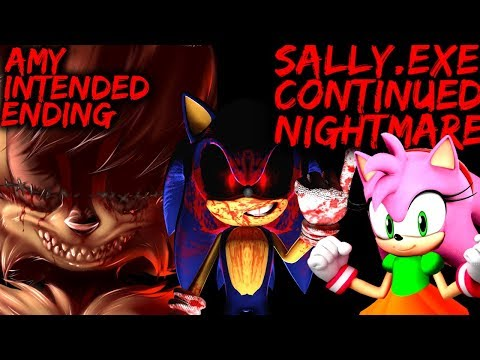 SALLY.EXE: CONTINUED NIGHTMARE - AMY INTENDED ENDING!