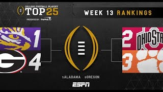 What will the FINAL Top 4 look like? Should Tua Tagovailoa RETURN to Alabama? by Harris Highlights