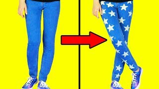 Video 15 EASY WAYS TO UPGRADE YOUR CLOTHES IN 1 MINUTE MP3, 3GP, MP4, WEBM, AVI, FLV Juli 2018