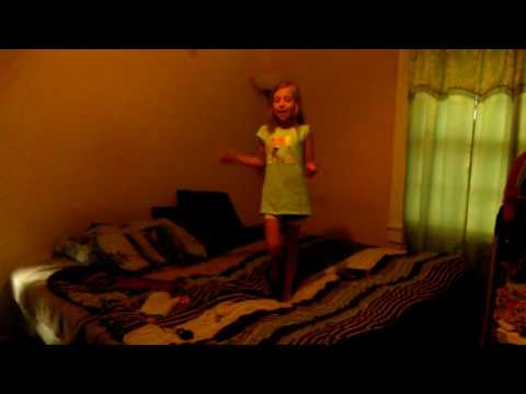 Jumping on the Bed bloopers