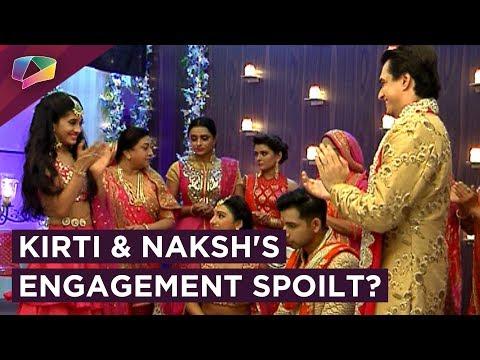 Naira Saves Kirti And Naksh's Engagement | Yeh Ris